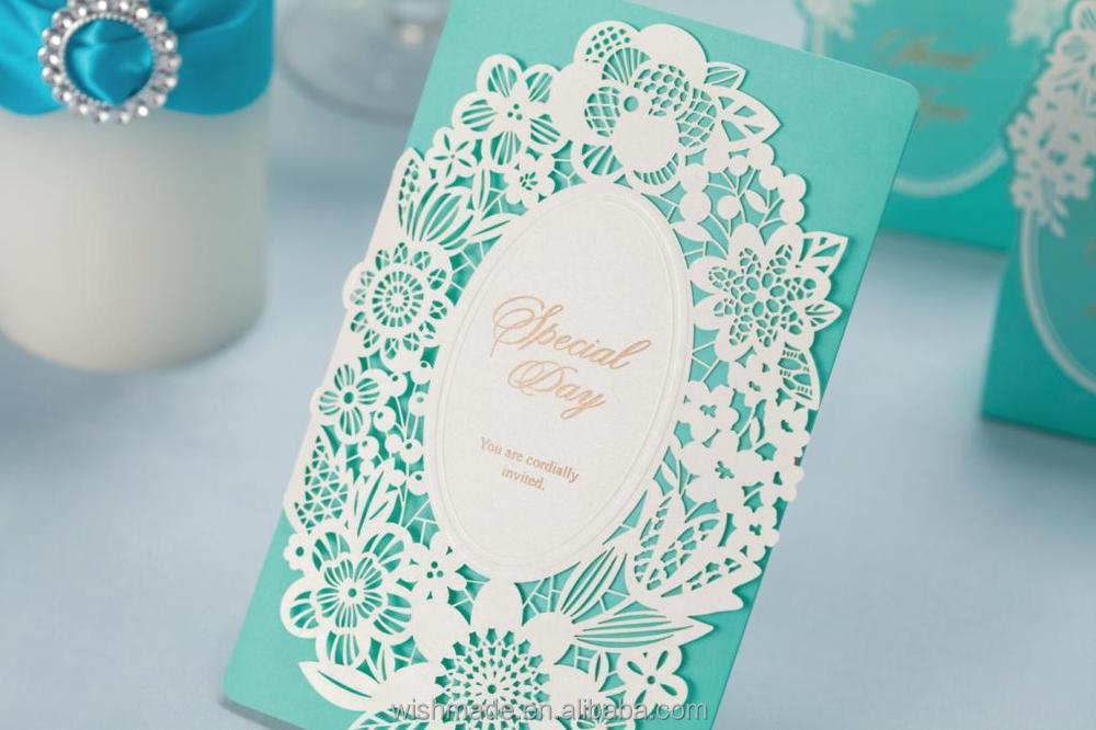 New Arrival Laser Cut Muslim Wedding Invitation Card in Crystal – Muslim Wedding Invitation Cards Designs