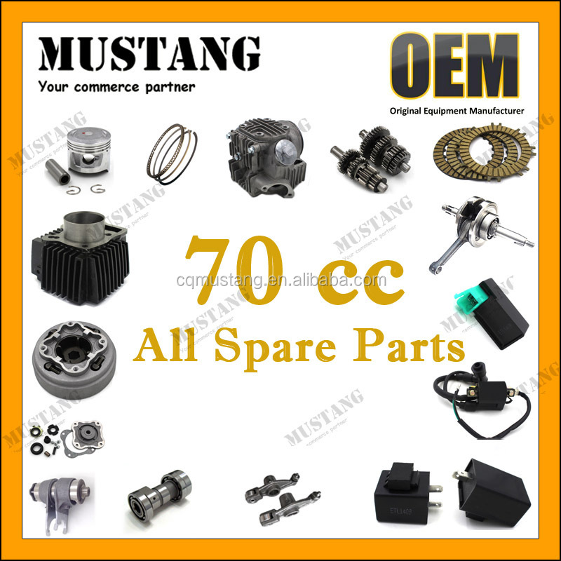 High Performance 70cc Motorcycle Engine Spare Parts For Honda Cd70