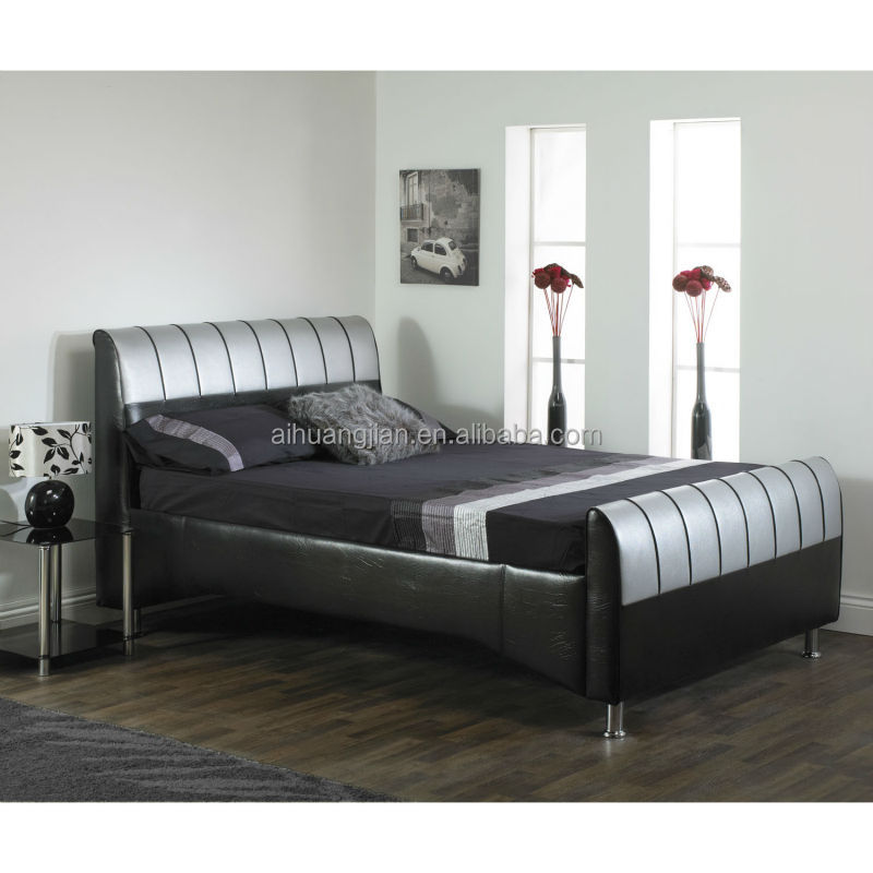 white leather diamond bed white leather diamond bed suppliers and manufacturers at alibabacom - White Leather Bed Frame