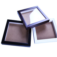 Wholesale Hot PS Black or White Shadow Box Photo Picture Frames Made in China