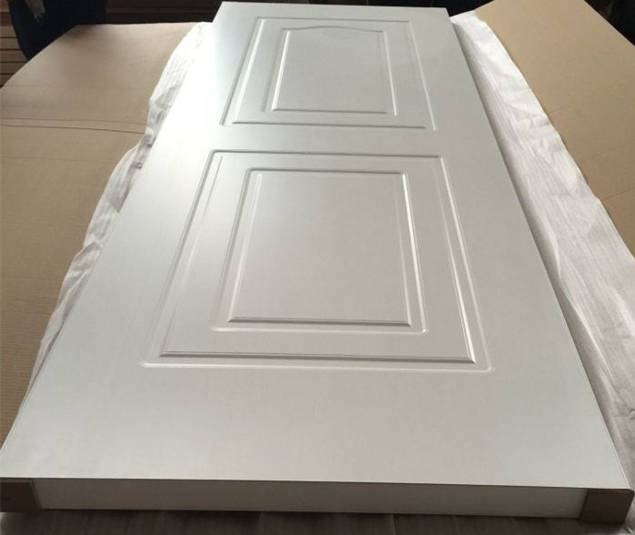 40mm White Pvc Coated Mdf Wooden Door Bedroom And Bathroom