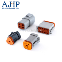 Deutsch 2 pin 4 pin 6 pin male female waterproof auto wire connector DT04-3P 4P 6P 8P 12P&DT06-3S 4S 6S 8S 12S
