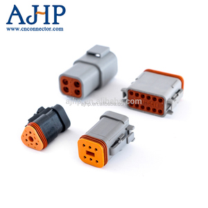 Deutsch 2 pin 4 pin 6 pin male female waterproof auto wire connector