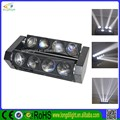 New product 8x10w 4-in-1 rgbw 8 head led moving head light price 10w white bar light/led spider light