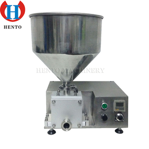 Popular Automatic Donut Ice Cream Filling Machine/Doughnut Filler