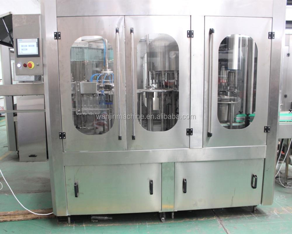 Automatic spring/ pure water bottling plant/filling machine