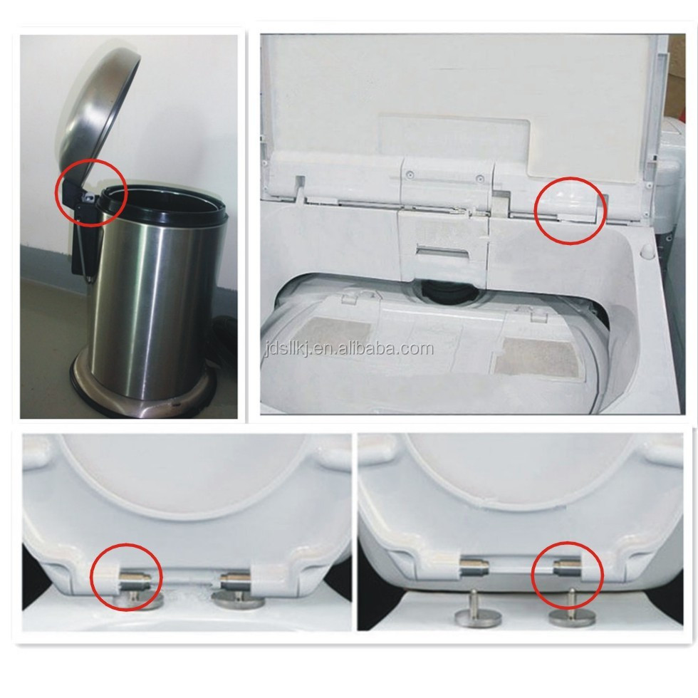 Slow Close Toilet Seat Hinges Soft Close Stainless Steel