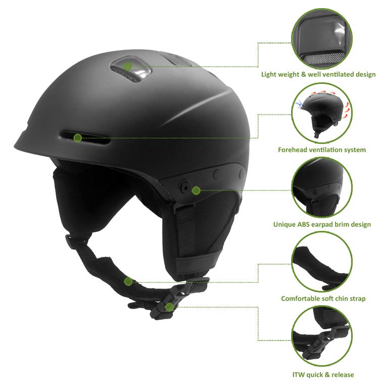 Alpine Snowboarding Helmet 10