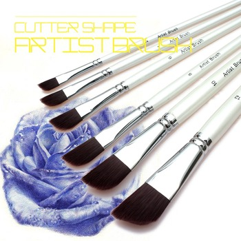 Paint Brush Set Art Acrylic Oil Watercolor Face Painting Artist Paint Brushes Great For Kids & Adults