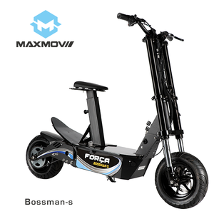 2019 New Design BOSSMAN E-scooter 1500W Electric Scooter Foldable 2000W BLDC EEC-Approved E -Scooters for Adults