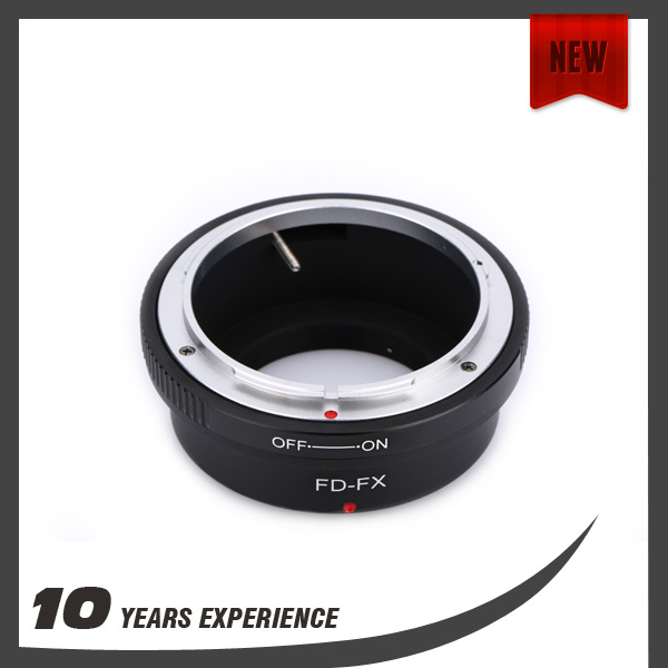 Camera photographic adapter ring for Canon FD mount lens for Fujifilm X-E1 X FX X-Pro1