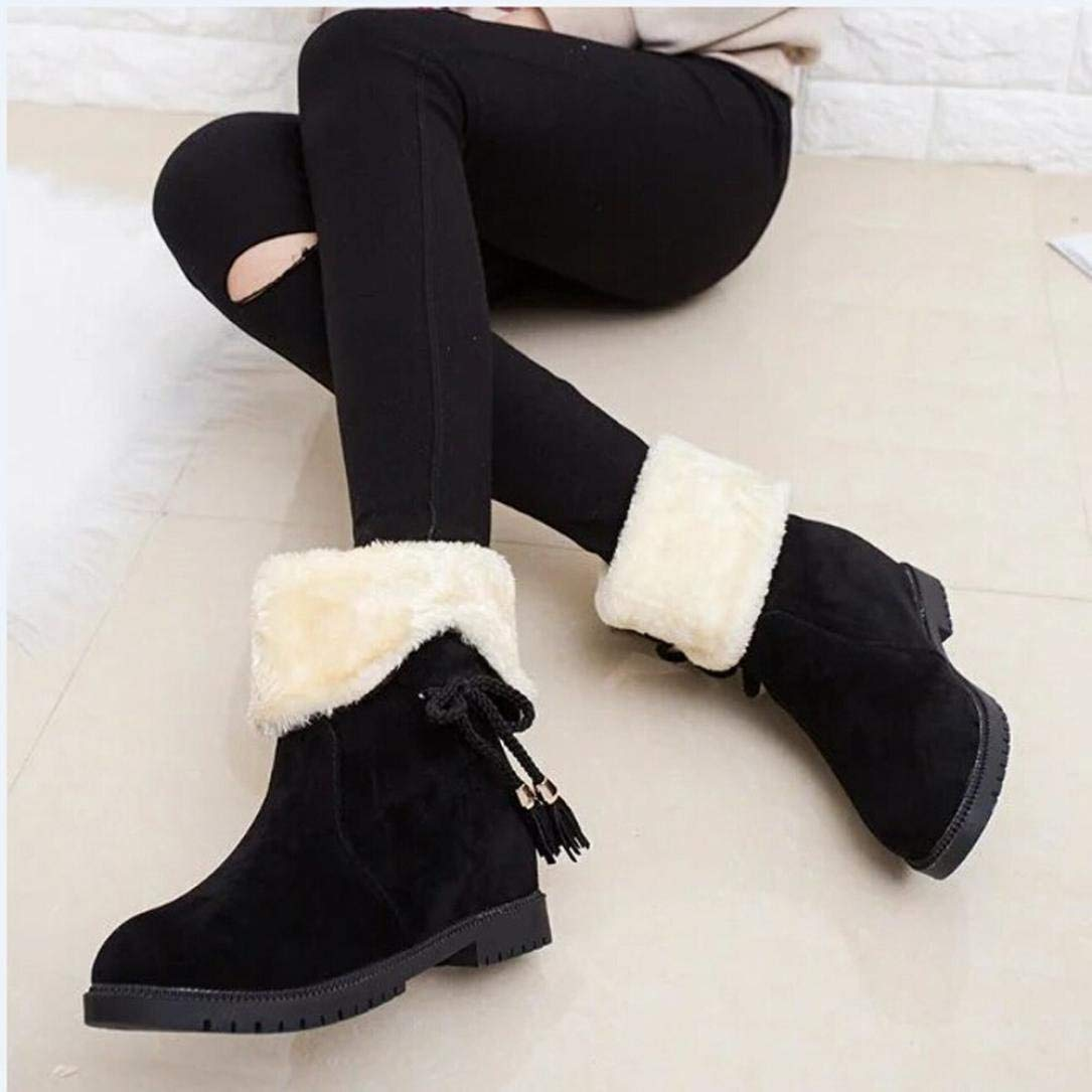 c5df2b2bf Get Quotations · Winter Snow Boots Womens,Hemlock Women Teen Matin Boots  Shoes Ladies Martens Mid High Boots