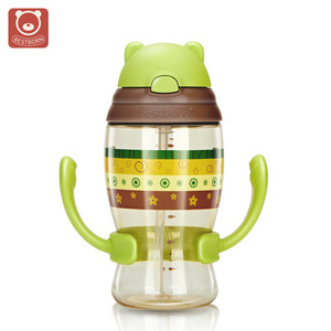 Eco-Friendly BPA Free Cute Shape Baby Sippy Cup Drinking Cup For Toddlers