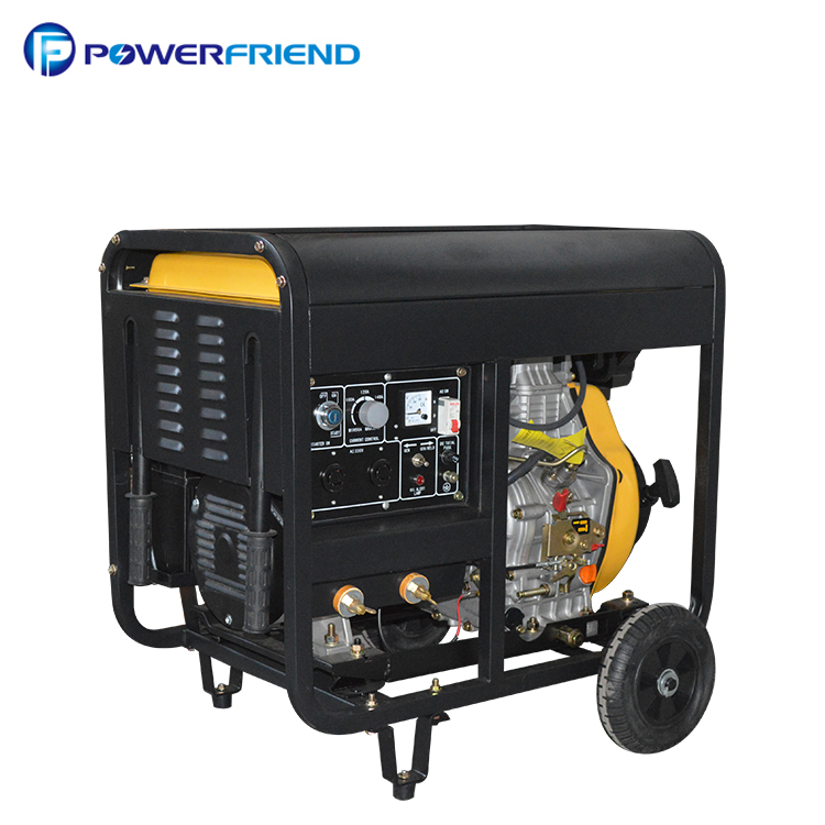 186FAE portable <strong>diesel</strong> dc 190a welder generator machine 2KW