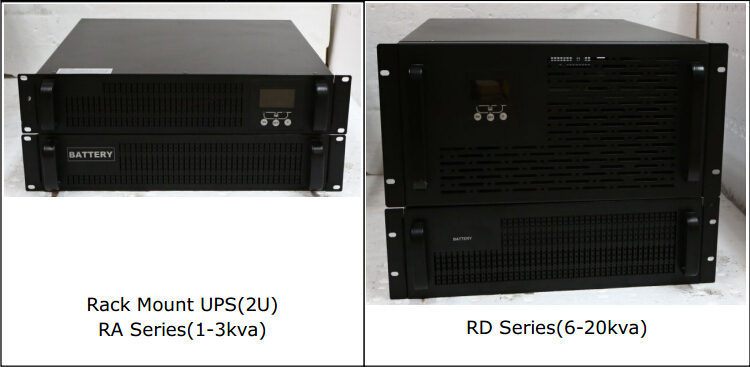 RA Series Online Double-conversion 3U Rack/Tower UPS