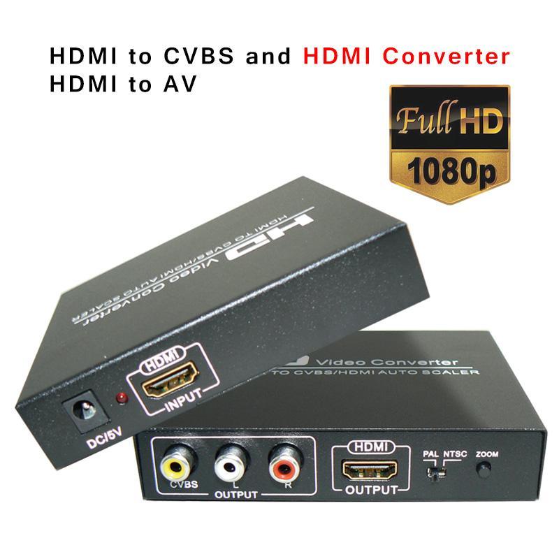 hdmi vers hdmi convertisseur av cvbs rca vid o composite vers hdmi convertisseur adaptateur. Black Bedroom Furniture Sets. Home Design Ideas