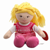 ICTI audited factory plush rag dolls/ OEM plush cloth dolls& stuffed rag and cloth dolls toys