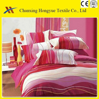 Fashion disperse printed polyester fabric for home textile/polyester brushed fabric for mattress cover,bedding use/woven fabric