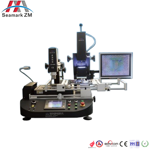 Vision and high-auto new bga reball rework station -R6808 with alignment camera and LCD