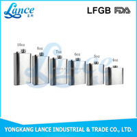 Professional Factory producing stainless steel hip flask