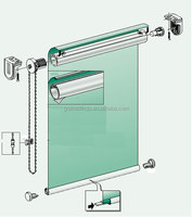 zebra roller blinds system parts for factory price
