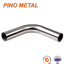"3"" Inch 45 Degree 90 Degree Bend T-304 Stainless Steel Exhaust Tube Pipe"