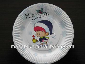 Disposable Custom Logo Disposable Paper Plates & Disposable Custom Logo Disposable Paper Plates - Buy Custom Printed ...
