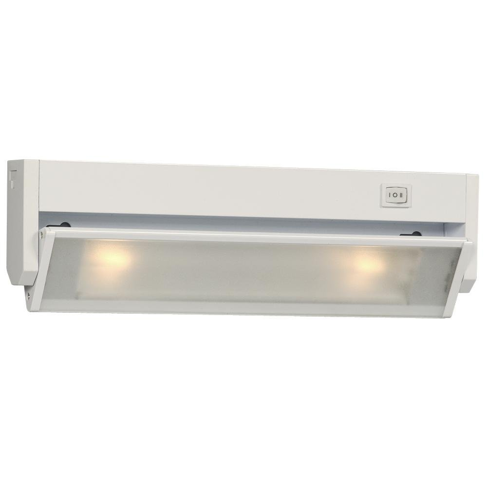 Get Quotations Galaxy Lighting 420912wh 2 Light Type Halogen Strip Under Cabinet