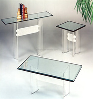Large Acrylic Large Clear Table for Home