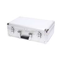 Customized Size Aluminium Carry Case Tool Suitcase Small Hard Aluminum Tool Case with Foam