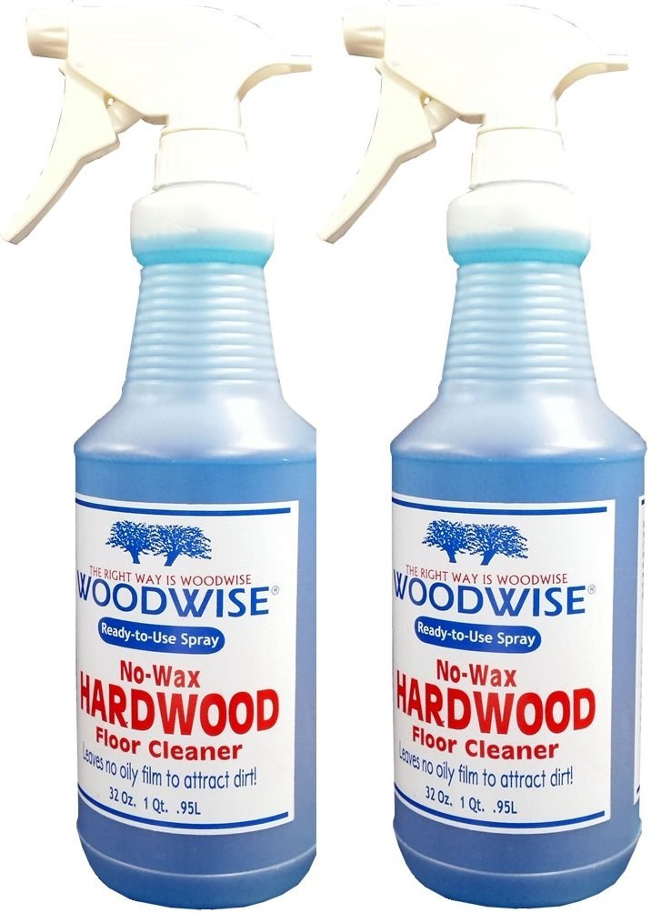 Get Quotations · Woodwise Ready-to-Use No Wax Hardwood Floor Cleaner 32oz Spray Pack of 2