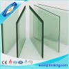 customized tempered glass display shelves with polished edge