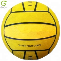 sport games rubber inflatable water polo ball