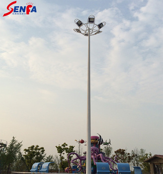 15m-35m LED high mast lighting with  lifting system
