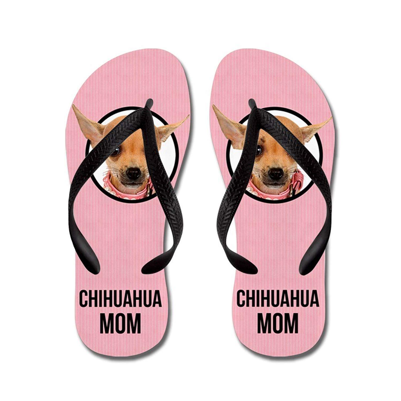 73f3b28541f0 Get Quotations · CafePress Chihuahua Mom - Flip Flops