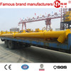 Fly ash screw conveyor for concrete mixing plant