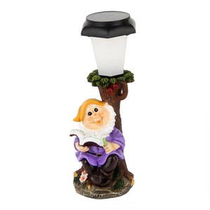 Solar Powered Dwarf Elf Garden Lights Gnomes Theme for Holiday Decoration
