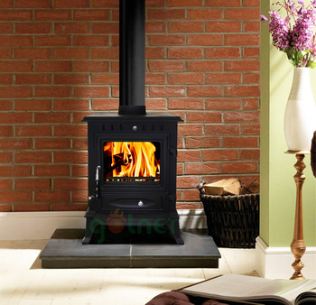free standing cast iron indoor wood burning stove factory directly