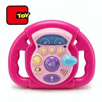 Baby Music Kids Steering Wheel Toy For Car Seat