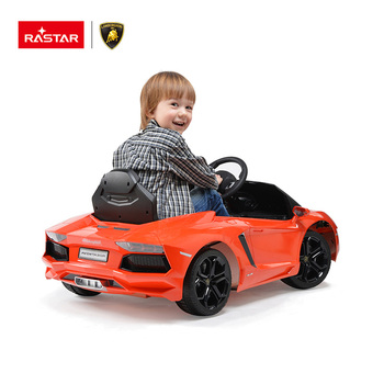 Hot design kids car 1 motor 6V Electric kids ride on car RASTAR toy ride on