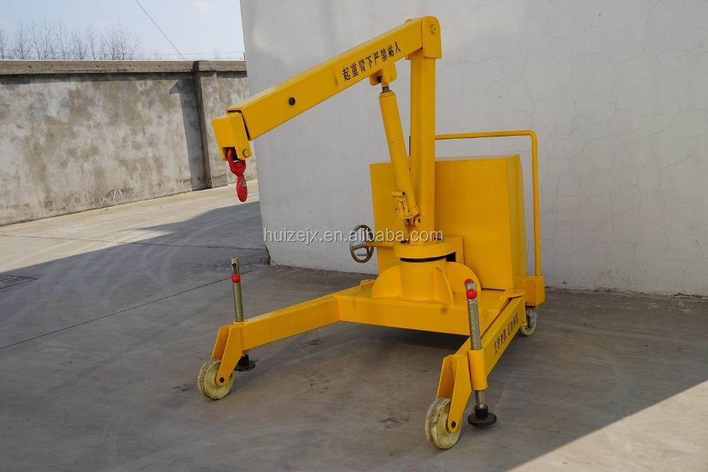 Jib Crane Wheels : T small mini mobile jib crane with wheels buy