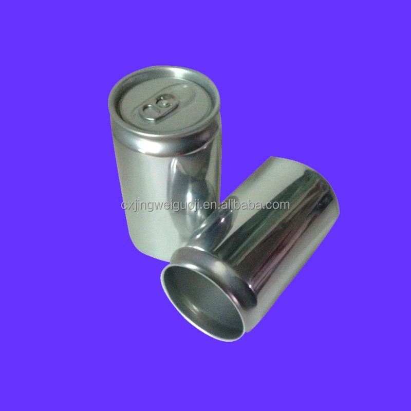 330ml empty custom blank aluminium cans for beverage