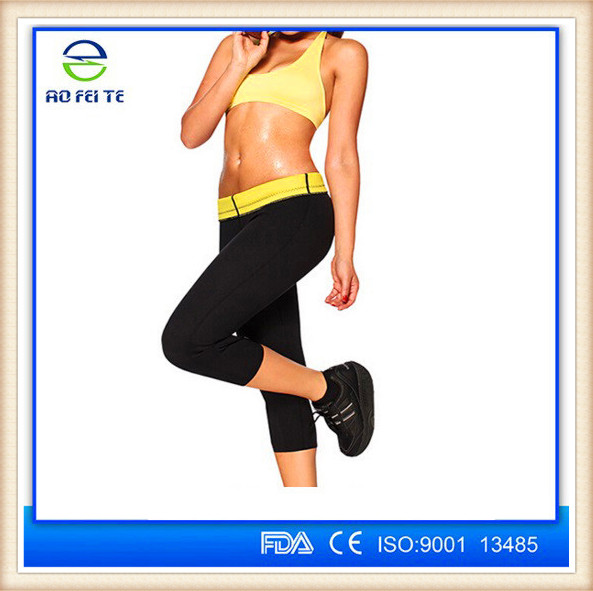 Ultra Sweat Sporting Thermal Women Body Suit Pants Neoprene Slimming Pants