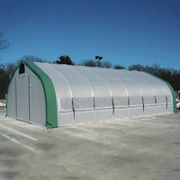 Top sell agricultural equipment low tunnel garden greenhouse