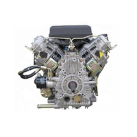 Air cooled 2 cylinder V type 4 stroke SCDC R2V88 diesel engine