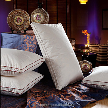 wholesale feather down pillow inserts feather pillow with duck down for 5star hotel