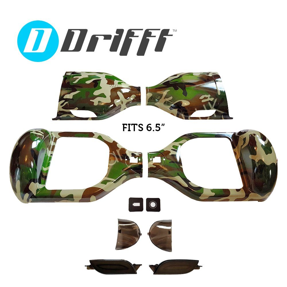 "6.5"" Hoverboard Shell Replacement in Camouflage for 6.5 inch Smart Self Balance Scooter"