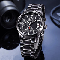 stainless steel band terner quartz watch price lady watch