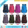 Fashion designer canvas backpack outdoor school bag china supplier