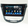 Popular Android 7.1 Touch screen 2din Car dvd Auto Radio Navigation GPS for Nissan Xtrial Qashqia with Rear View Camera